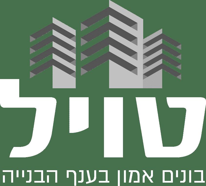 לוגו קבוצת טויל לרקע שחור