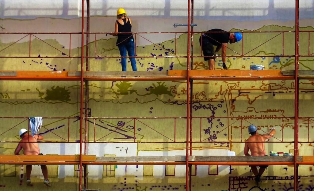 ענף הבנייה - נשים